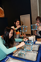 Students explore engineering at Engineering Challenges Carnival