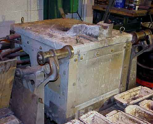 Melting And Sand Casting Equipment Case Metal Processing