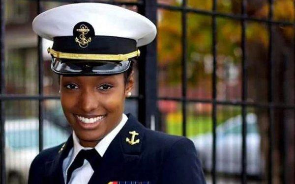 Photo of Cierra McCrary in uniform