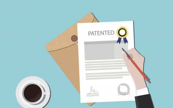 Image of patent certificate
