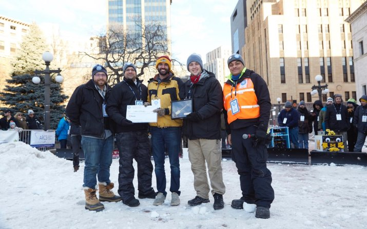 CWRU autonomous snowplow team