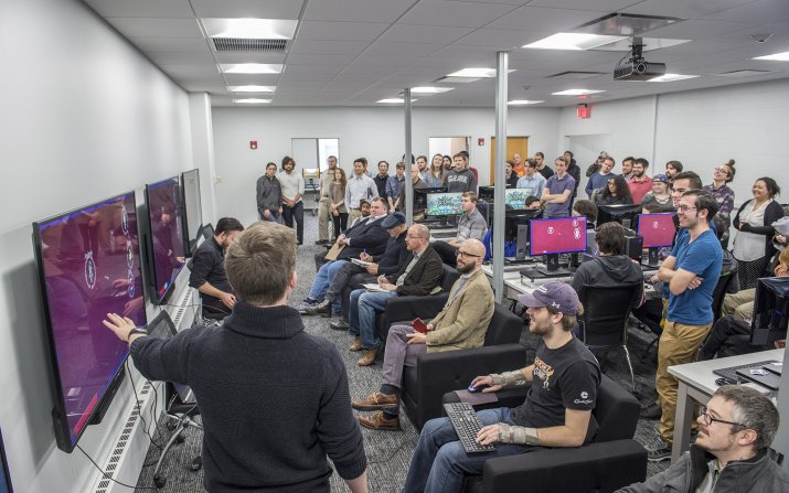 Students showcase original video games at Arcade Day 2018