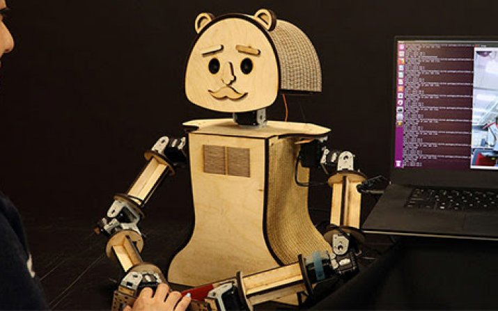 Photo of social robot Woody