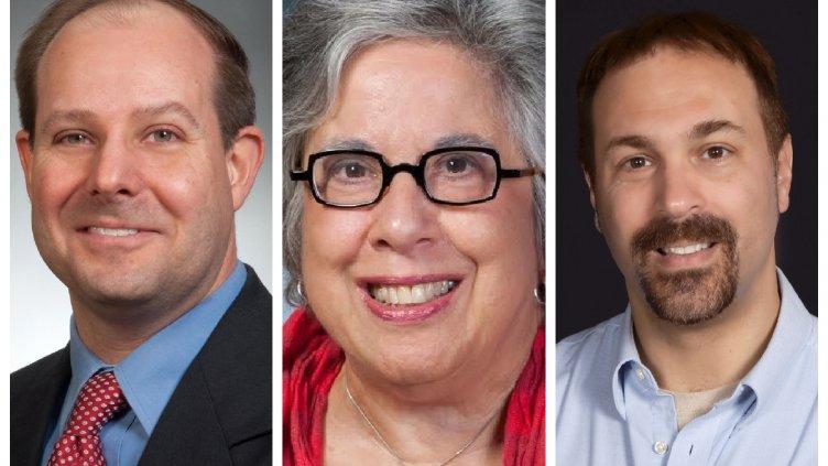 Michael Halbig, Frances Hurwitz and Rick Ubic