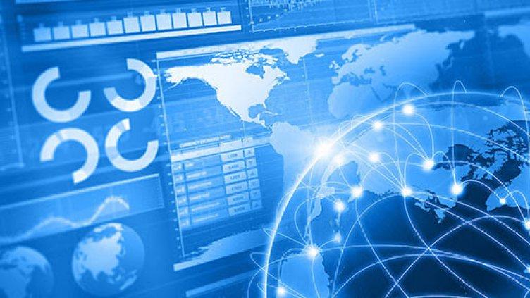 Illustration of digital grid technology