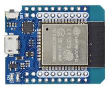 An ESP32 microntroller
