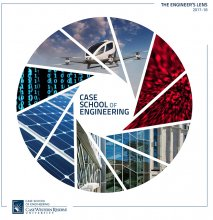 Picture of the cover of the 2017-18 Case School of Engineering Annual Report