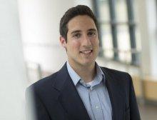portrait of student entrepreneur Nicholas VanDillen