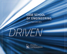 Case School of Engineering 2013-14 annual report cover