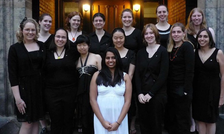 Phi Sigma Rho Group Photo