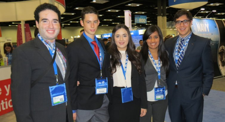 student members of the Society of Hispanic Engineers