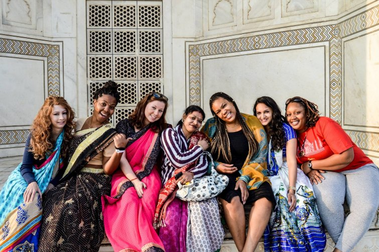 students studying in India