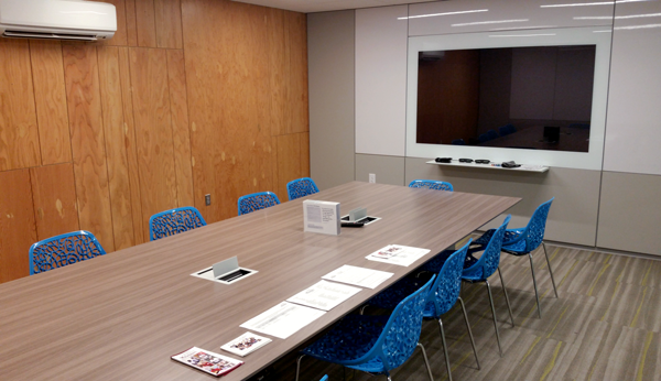 The think[box] conference room